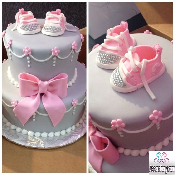Cake Decorating Ideas For Baby Shower : 13 Easy cake decorating ideas for baby shower