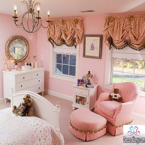 30 feminine room ideas for teen girls decoration y for Sophisticated feminine bedroom designs
