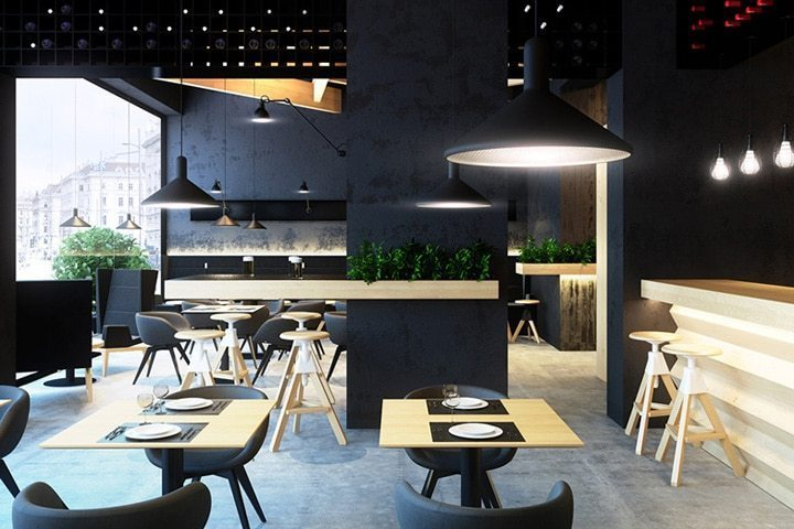 Modern Restaurant Furniture Designs 2016/2017