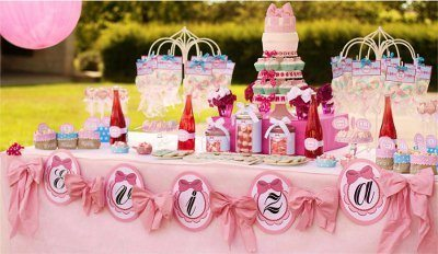 pink Birthday party themes for kids