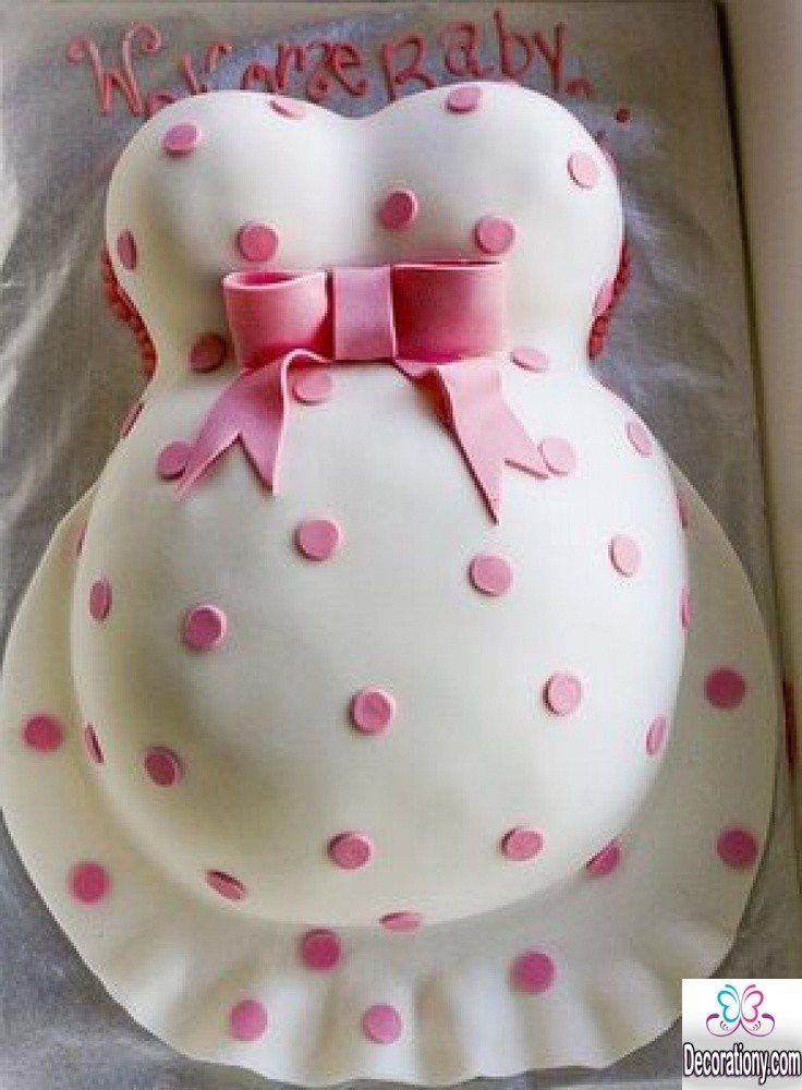 Cake Decorating Ideas Photos : 13 Easy cake decorating ideas for baby shower - Decoration Y
