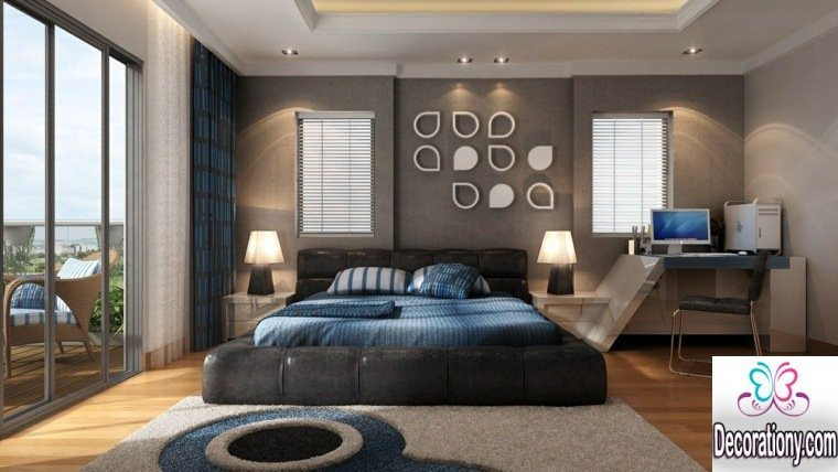 awesome master bedroom idea with contemporary furniture