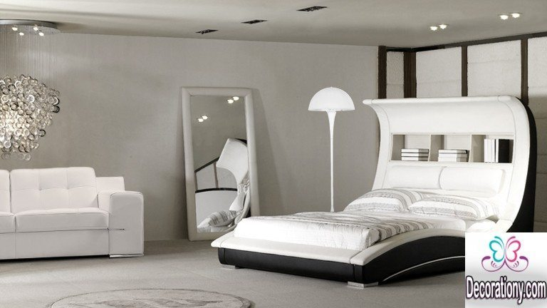 contemporary white bedroom furniture