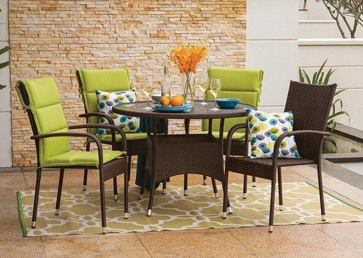 Colorful Patio Furniture Sets & Design Ideas 2017