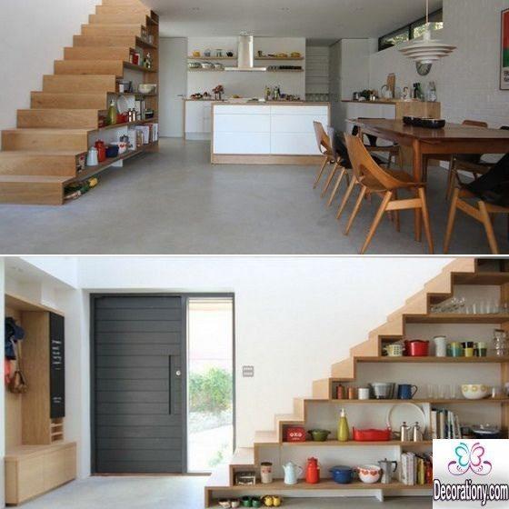 creative Under Stairs Storage