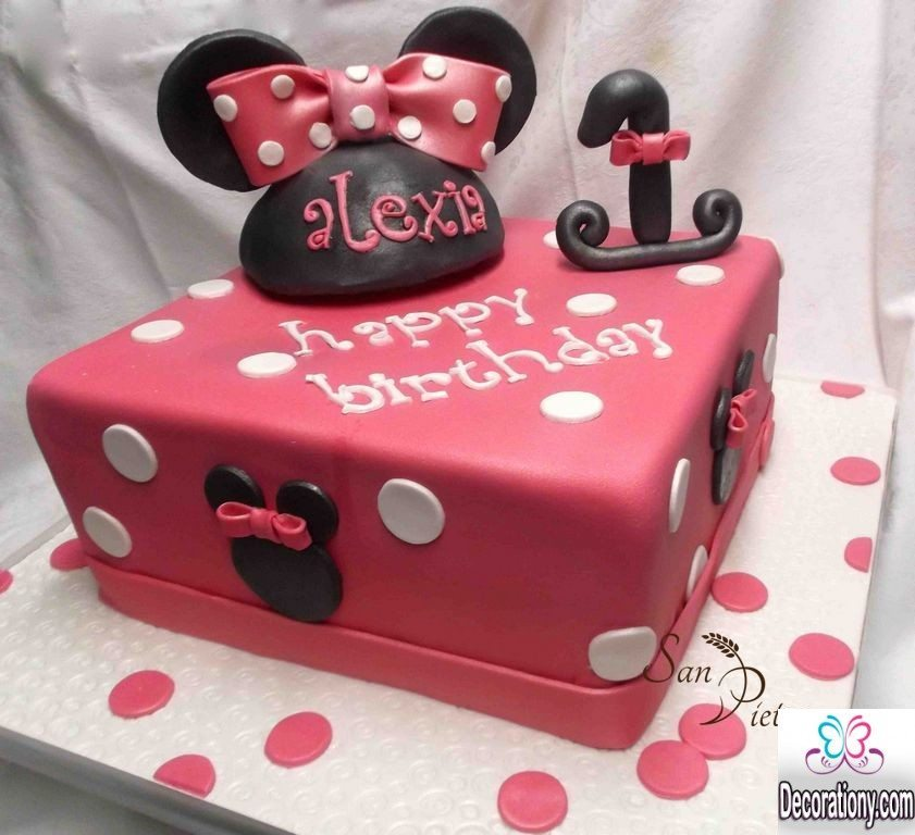 Coolest 1st Birthday Cakes Ideas For Boys Amp Girls