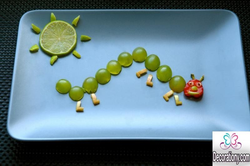 15 Pretty Fruit Decoration Ideas For Your Kids Food Decorating