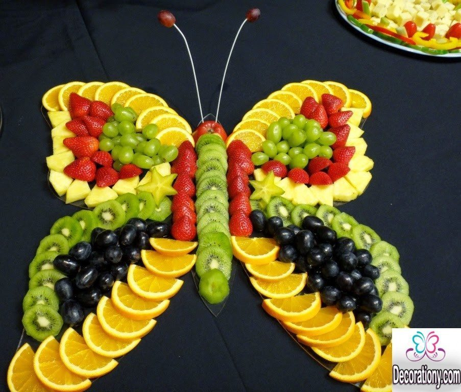 Top 15 pretty fruit decoration ideas for your kids for Decoration fruit