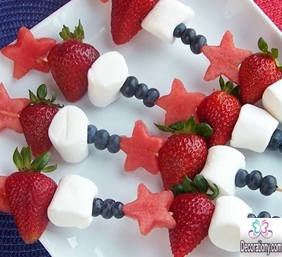 fruit decoration for children