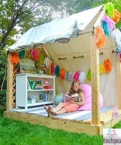 garden ideas for girls