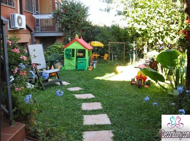15 fun small garden ideas for kids decoration y for Garden designs 2016