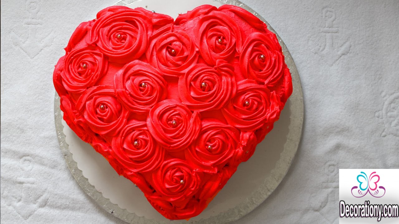 Cake Design Heart Shape : 15 Creative Birthday Cake Decorating Ideas For Adult ...