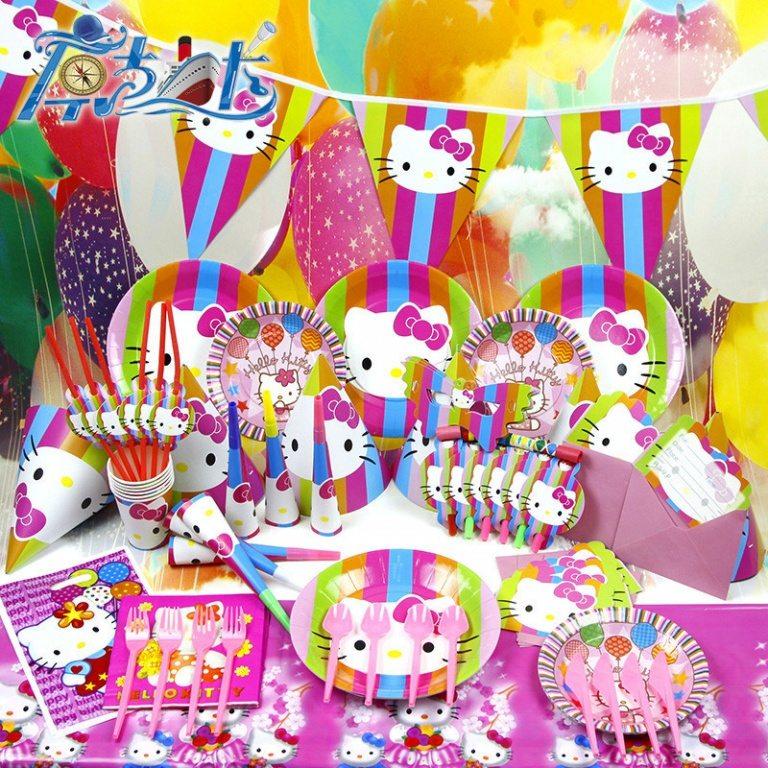 Hello Kitty Birthday Themes