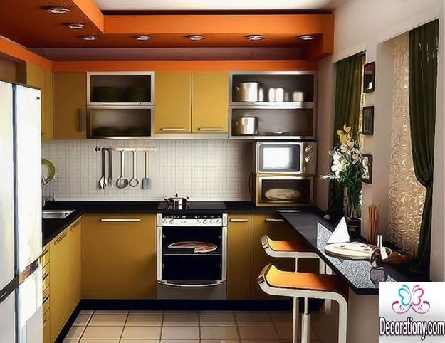 15 smart small kitchen design ideas for Smart kitchen design