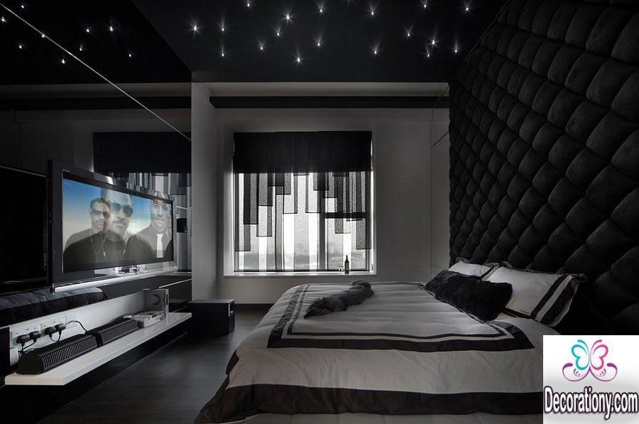 luxury black bedroom ideas