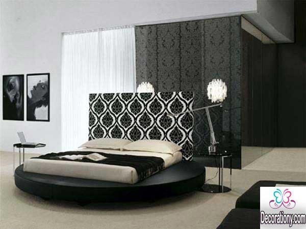 modern bedroom wall decoration