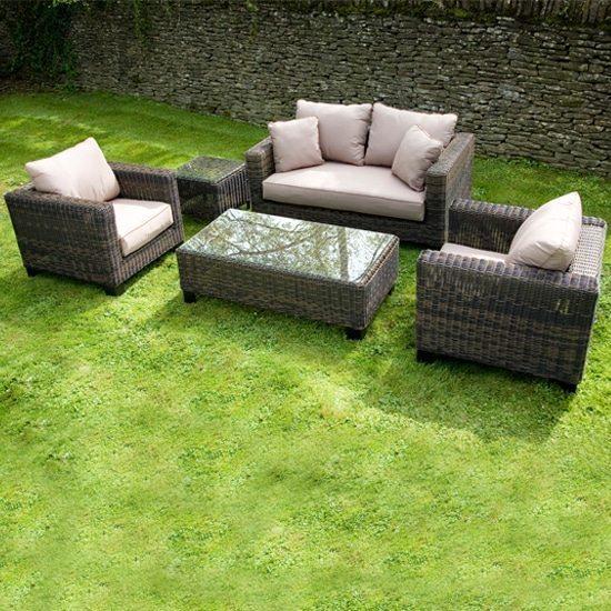 Contemporary patio furniture sets
