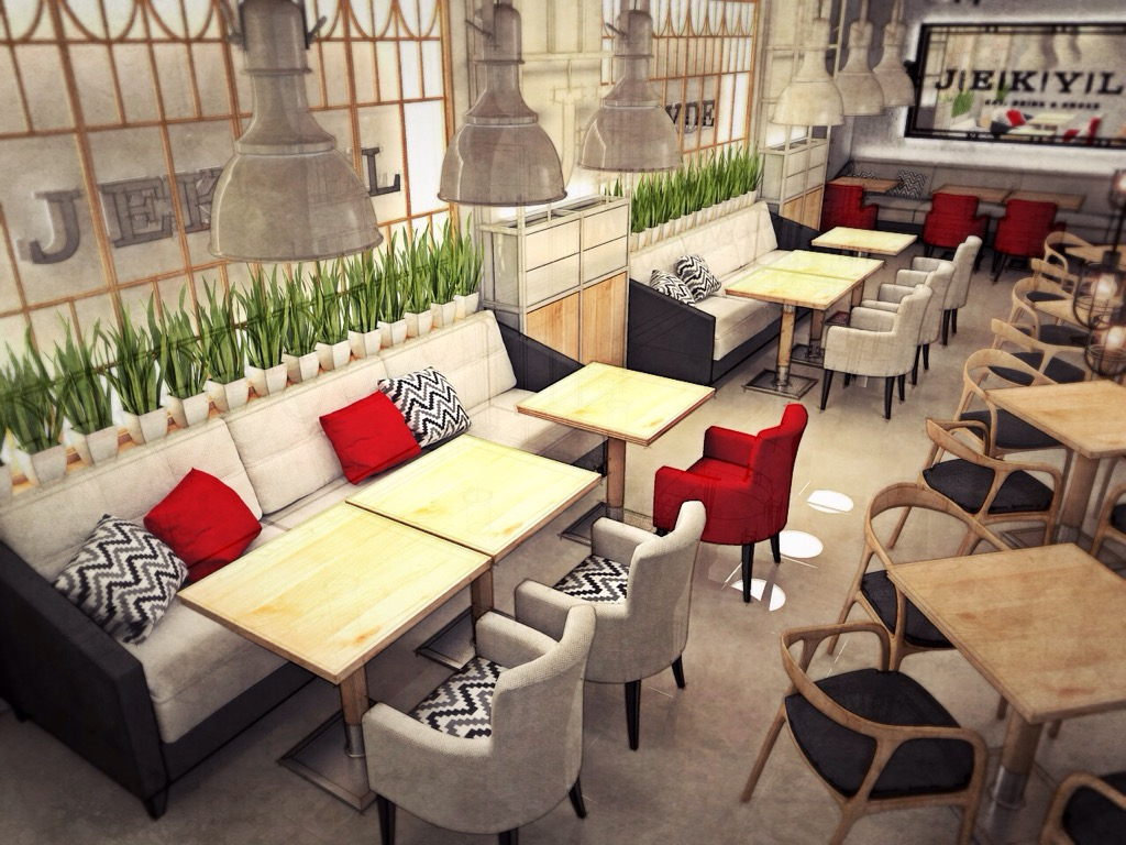 15 stylish restaurant furniture design decoration y for Modern furniture ideas