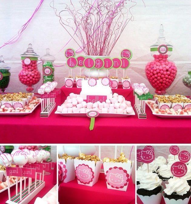 Pink Kids birthday ideas