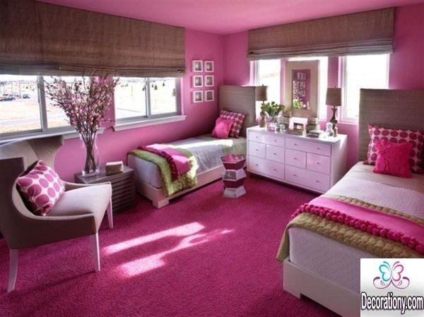 pink room decor ideas