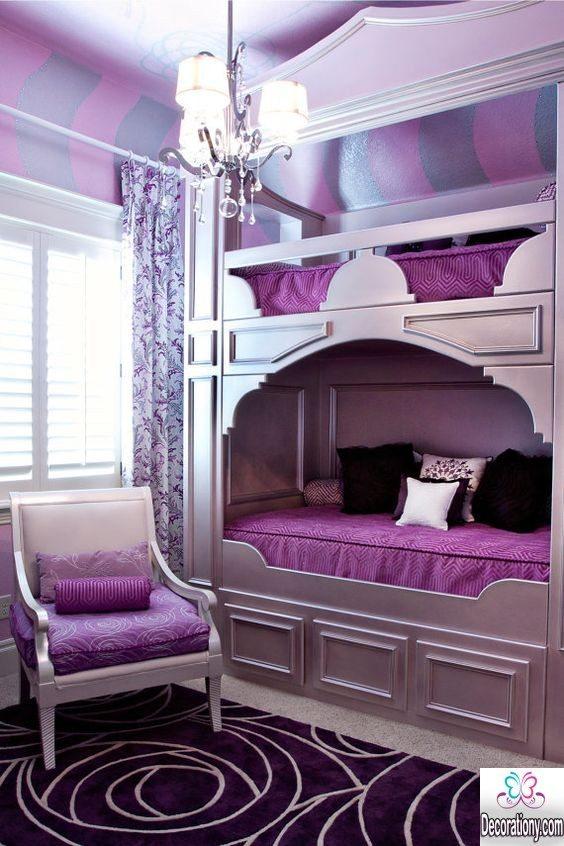 purple bedroom decor for teen girls