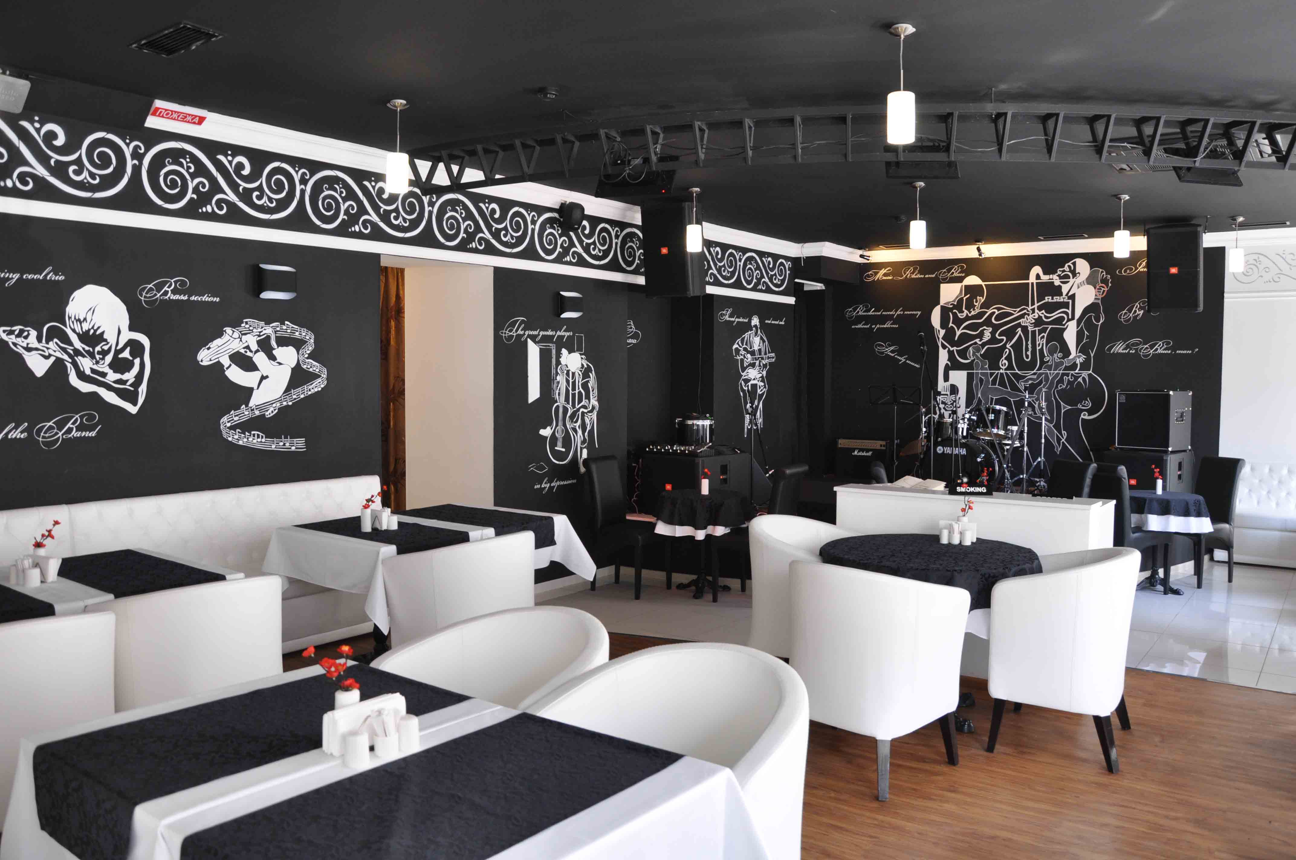 Stylish restaurant furniture design decor or