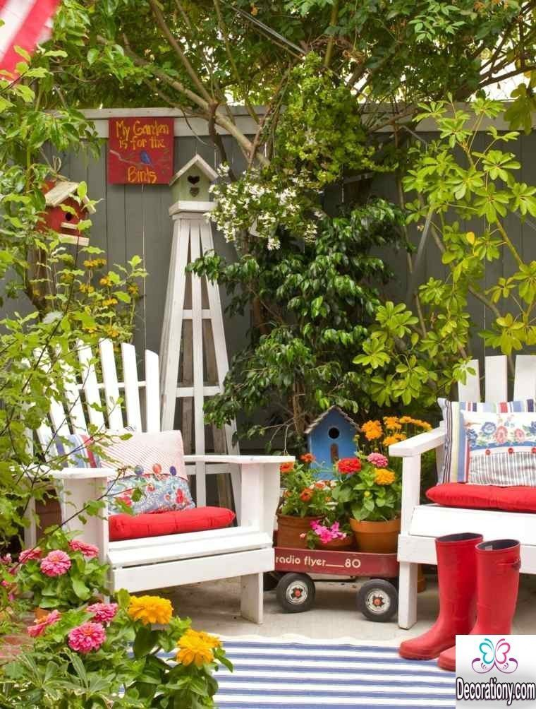 small garden furniture sets
