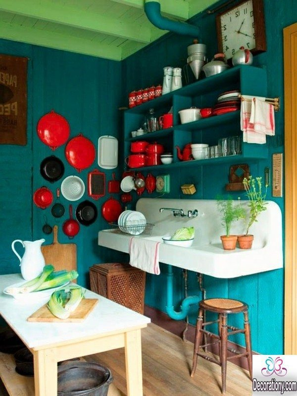 small kitchen paint color