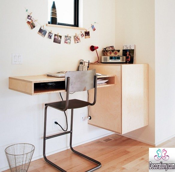 17 Smart DIY Desk Ideas For Home Office Decoration Y