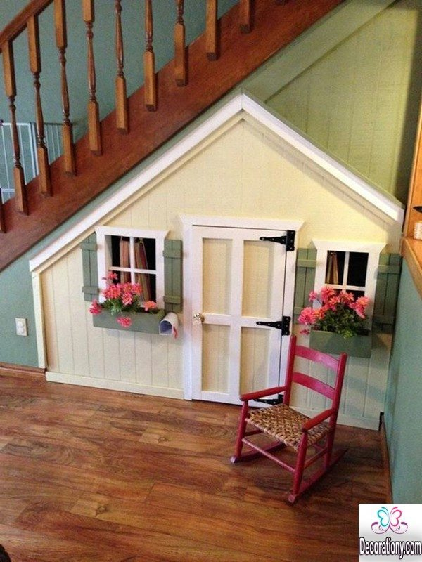 under stairs decorating ideas