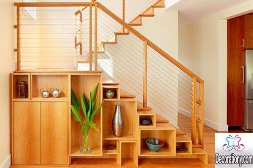 under stairs storage design