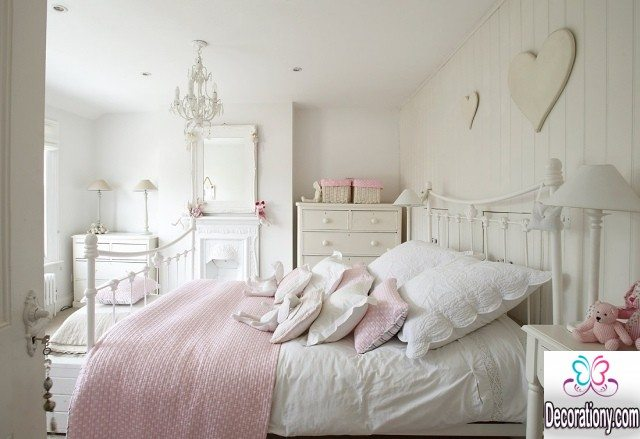 white bedroom for girls