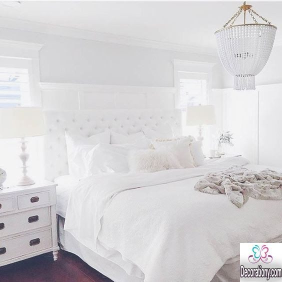 white bedroom style