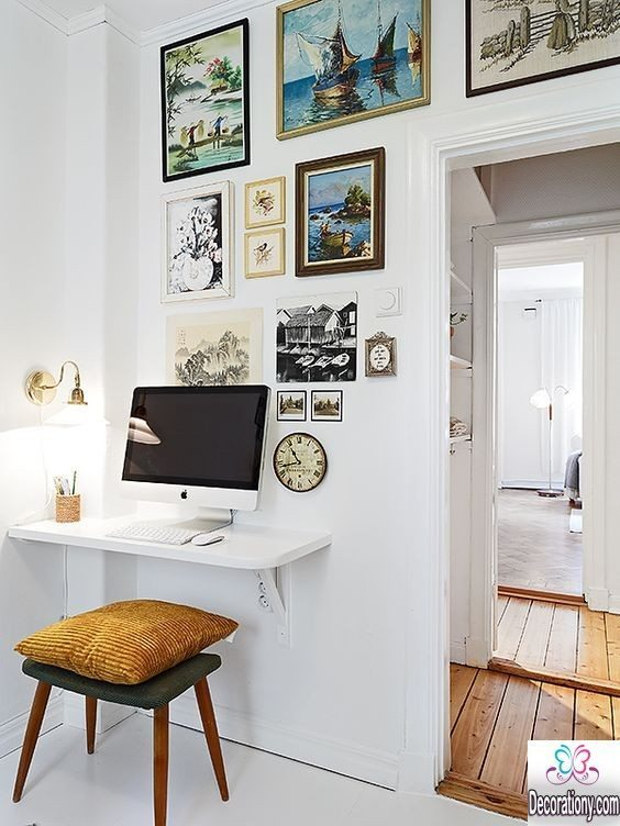 white small warkspace ideas