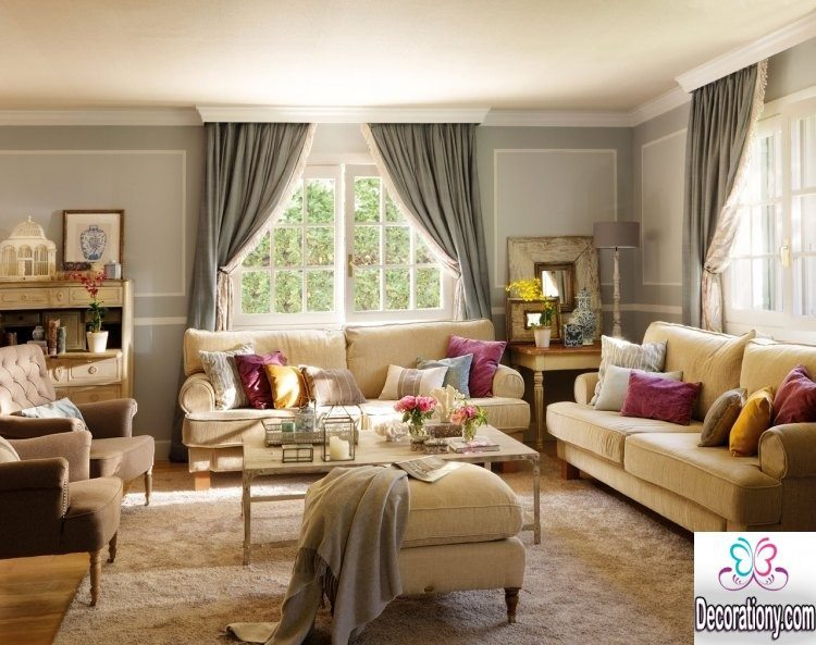 15 rustic living room paint ideas to inspire you for Sitting room design 2016