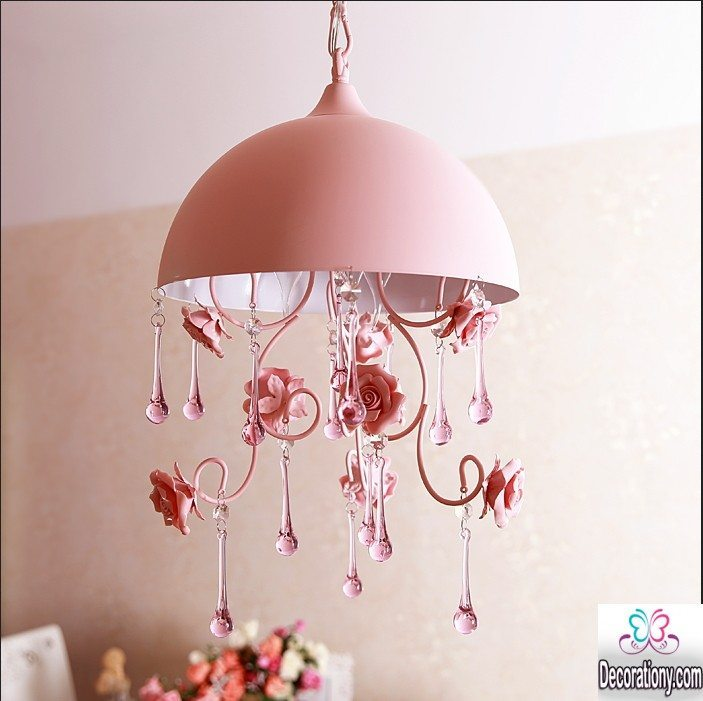 Chandelier for gilrs room
