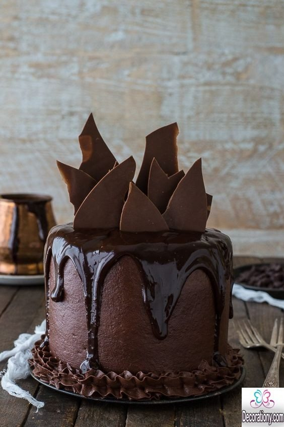 Cake Decoration With Chocolate Ganache : 17 Tasty Chocolate Cake Recipe Decorating ideas - Cake decorating