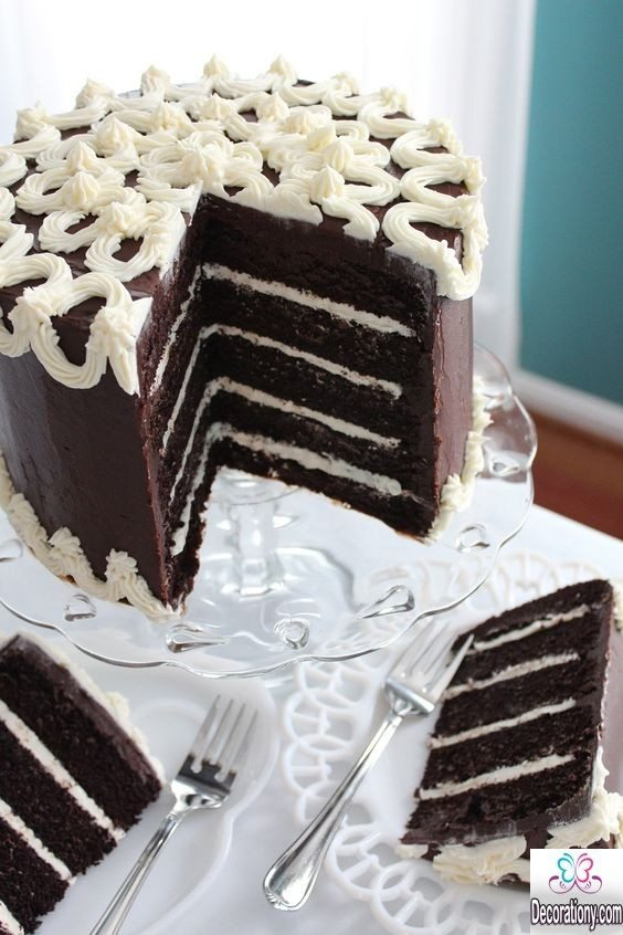 17 Tasty Chocolate Cake Recipe Decorating ideas - Cake ...
