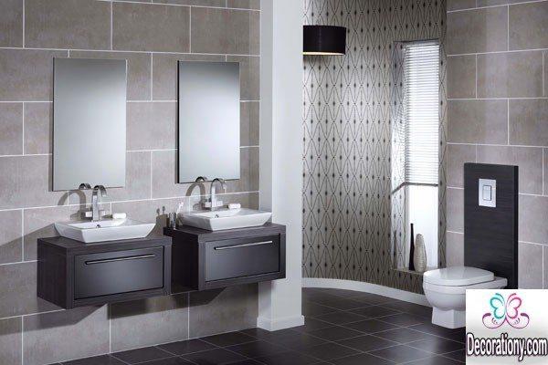 Modern bathroom tiles 1