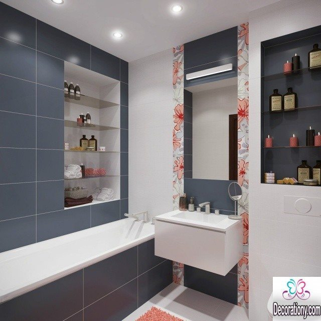 30 Beautiful Bathrooms Tiles Designs Ideas Decoration Y