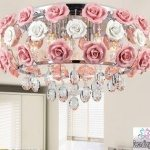 20 Pink Chandelier For Teenage Girls Room 2017