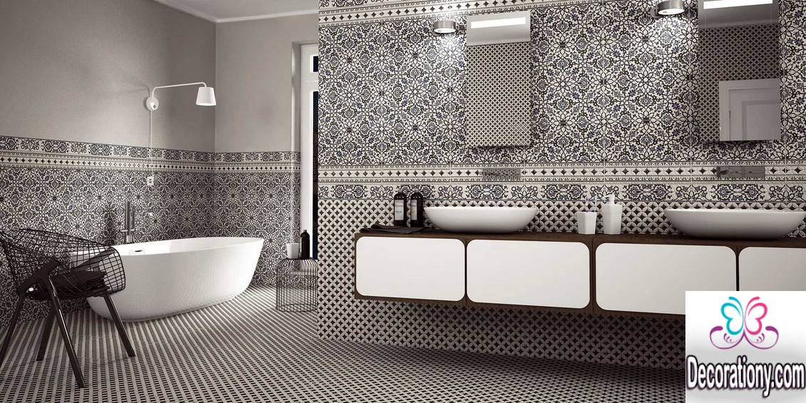 Beautiful Bathrooms 30 Tiles Designs Ideas