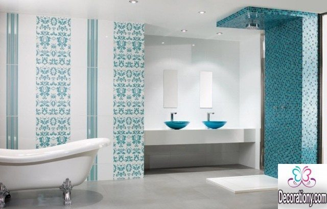 Tiffany bathrooms