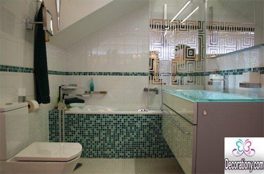 beautiful bathrooms Mosaic tiles