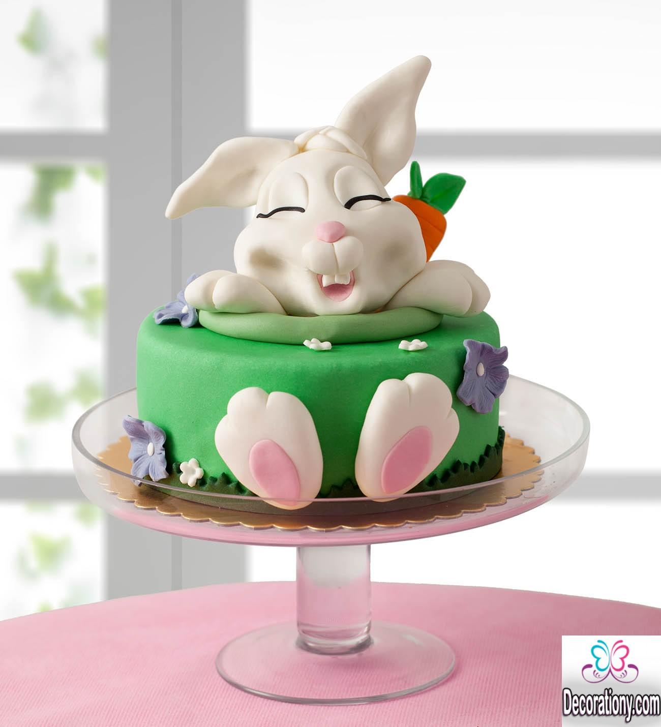 bunny cakes design idea