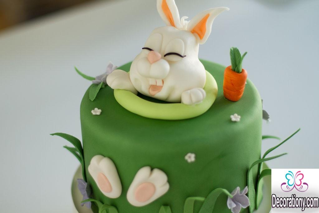 funny easter cake
