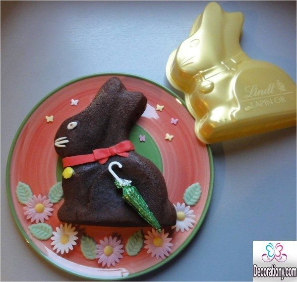 chocolate rappit cake