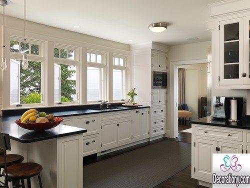 creative white kitchens