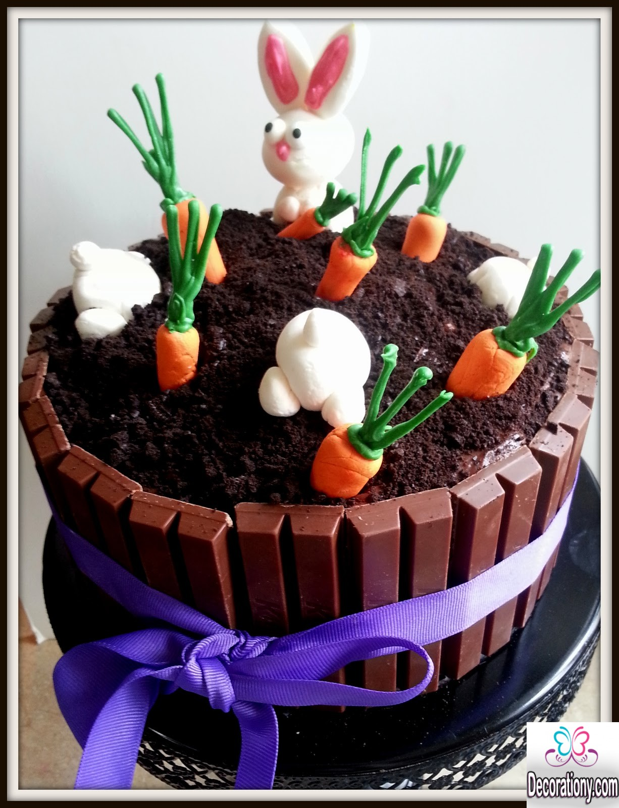 Cute easter bunny cake decorating ideas decoration y for Deco de paques