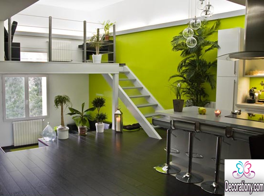 17 inspiration home dark floors design ideas decoration y - Deco murale noir et blanc ...